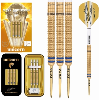 Unicorn World Champion Gary Anderson Limited Edition Gold