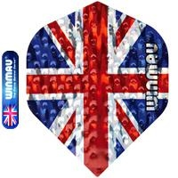 Winmau Embossed Union Jack  Set à 3 stuks