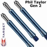 Target Power shaft Phil Taylor Gen. 2 Medium Blue Set à 3 stuks