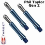 Target Power shaft Phil Taylor Gen. 2 Short Blue Set à 3 stuks