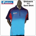 Unicorn Pro Dart Shirt Blue and Red