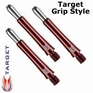 Target Grip Style Short Red