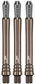 Target Power shaft Phil Taylor Gen. 3 Intermediate Silica Set à 3 stuks