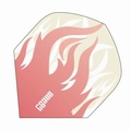 One80 Darts Standard flights Heat Pink Flame