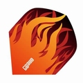 One80 Darts Standard flights Heat Orange Flame