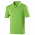 Just Cool  Dart Polo Lime Green