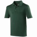 Just Cool  Dart Polo Bottle Green