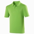 Just Cool  Dart Polo Lime Green Kids