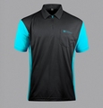 Target CoolPlay 3 Hybrid Dartshirt Black / Aqua Blue