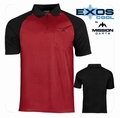 Mission Exos Cool FX Pure Black & Red