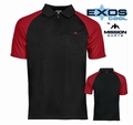 Mission Exos Cool SL Pure Black & Red