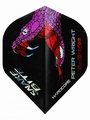 Red Dragon Peter Wright Snakebite Holographic Black Purple