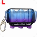 L-Style Krystal Flight Case N9 Twin Color Blueberry