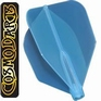 Cosmo Darts Fit Flight AIR Shape Clear Blue