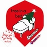 Designa Flights DSX Collection Christmas Tree in a bed