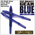 Cosmo Fit Shaft Gear Normal Spinning Clear Blue