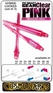 Cosmo Fit Shaft Gear Hybrid Locked Clear Pink