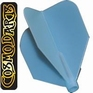 Cosmo Darts Fit Flight Shape Clear Blue