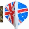 Cosmo Darts Fit Flight Juggler Standaard Union Jack