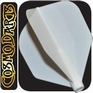 Cosmo Darts Fit Flight AIR Shape White