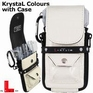 L-Style Krystal Colours + drop in case Croc White