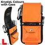 L-Style Krystal Colours + drop in case Orange